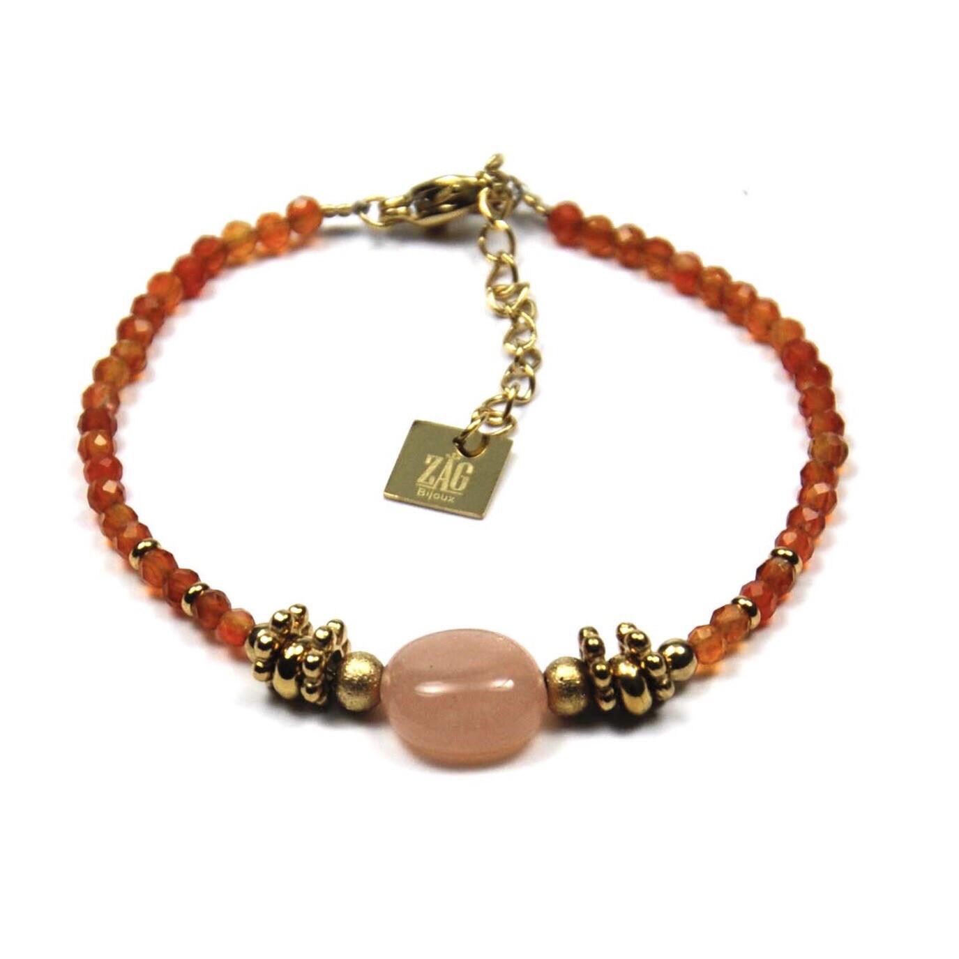 Zag Bijoux - Bracelet - Sun Stone