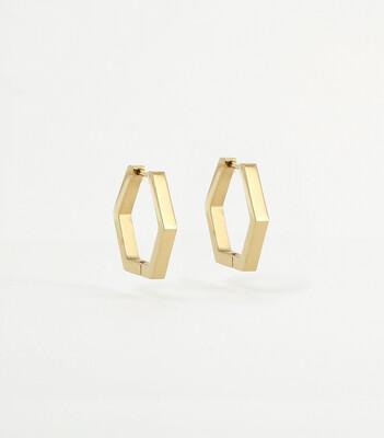 Zag Bijoux - Earrings Octa - Gold