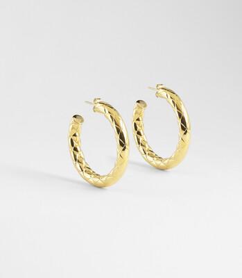 Zag Bijoux - Earrings Chloé   Gold