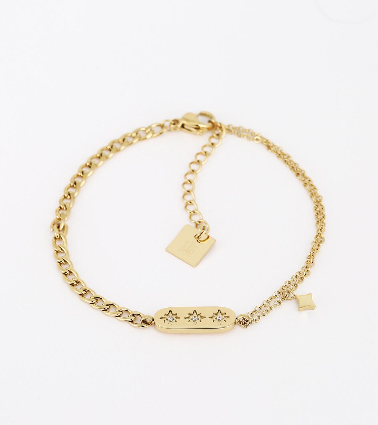 Zag Bijoux Bracelet Snake Lassie | Gold