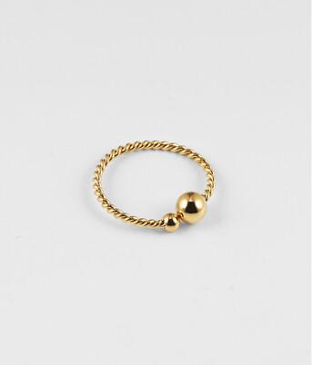 Zag Bijoux Ring Soho   Goud