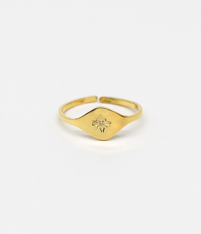 Zag Bijoux Ring Ojos | Gold