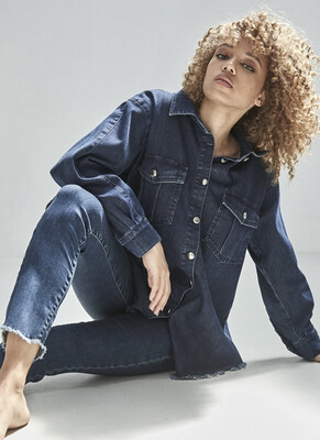 Homage - Brooke Jeans - Cropped Skinny