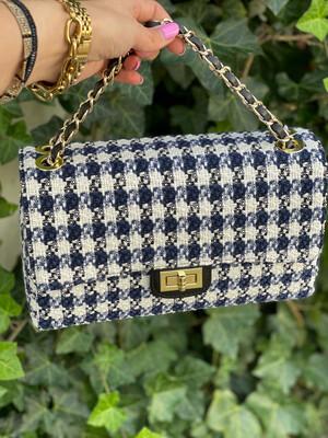Las Lunas Bag Audrey - Medium Blue