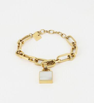 Zag Bijoux - Bracelet Tram - Gold
