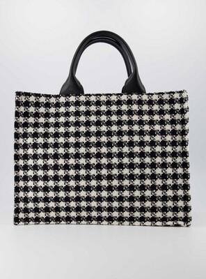 Las Lunas Bag Chris - Black/White