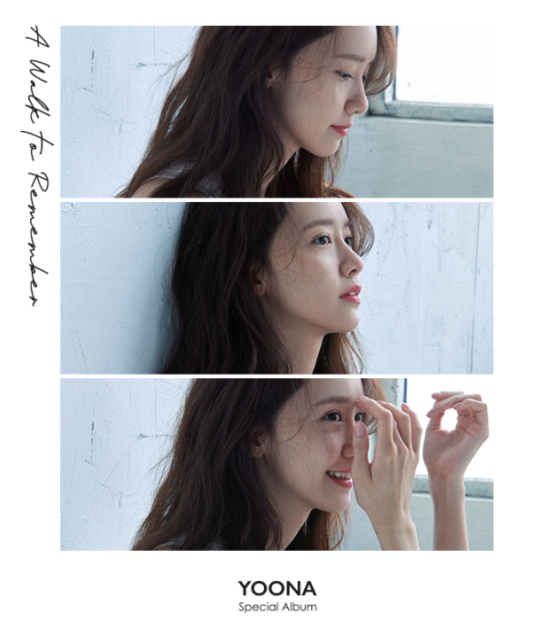 """Yoona's Special Album """"A Walk To Remember"""" w/ Unfolded Poster"""