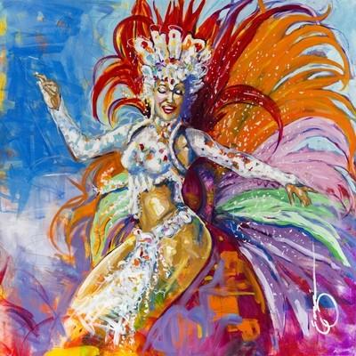 RAINHA de BATERIA