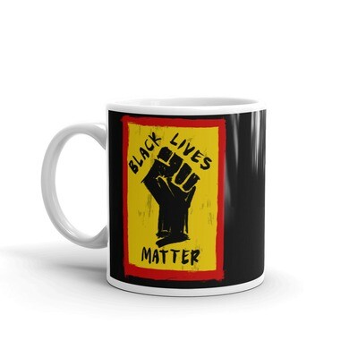 BLACK LIVES MATTER ART MUG