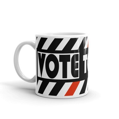 VOTE TO BREATHE MUG