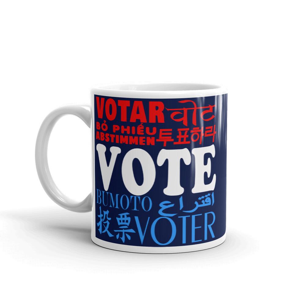 THE ALL AMERICAN VOTER MUG