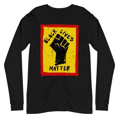 EUGI BLACK LIVES MATTER SHIRT - BLACK/GRAY