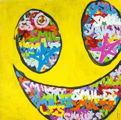 SMILES - Art Print