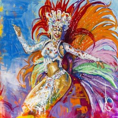 RAINHA DE BATERIA - print