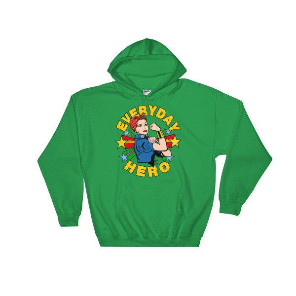 EVERYDAY HERO RHYTHM HOODIE  (5 Colors)