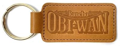Key Ring Leather w/ Logo