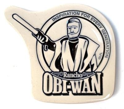 Magnet Stoneware w/ Obi-Wan Kenobi