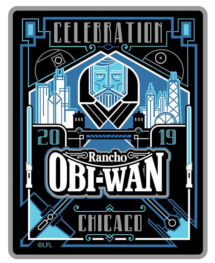 Celebration Chicago 2019 - Patch, Obi-Wan