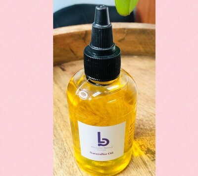 Naturallee hydrating growth oil