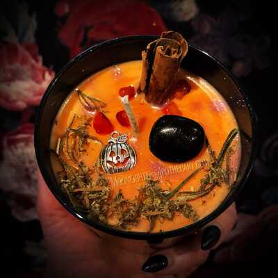 Samhain Enchanted Ritual Candle