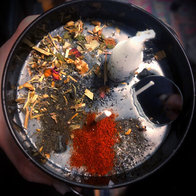 Uncrossing Enchanted Ritual Candle