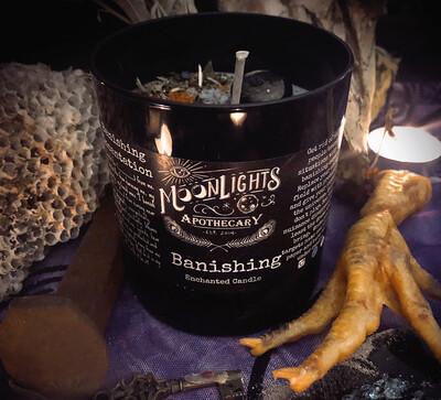 Banishing Ritual Candle