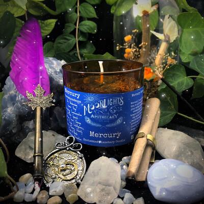 Mercury Ritual Candle