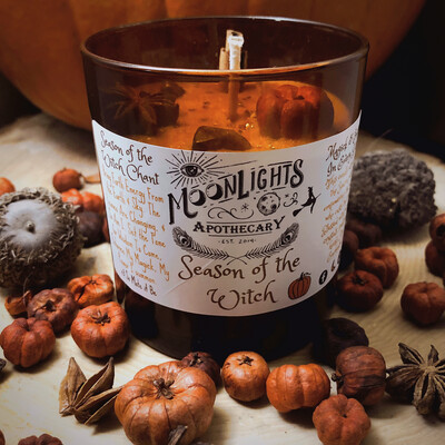 Season Of The Witch Candle
