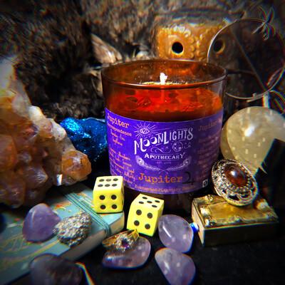 Jupiter Ritual Candle