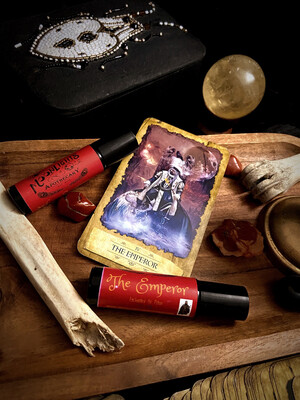 The Emperor Enchanted Tarot Oil Potion