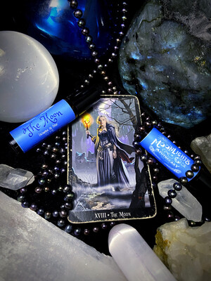 The Moon Enchanted Tarot Oil Potion