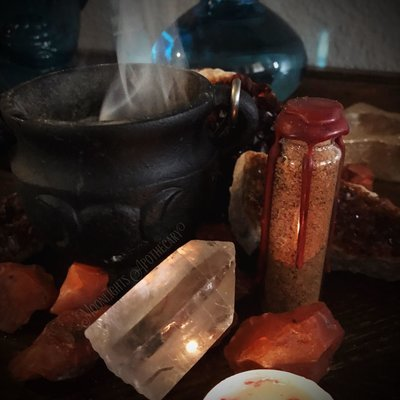 Power Resin Incense