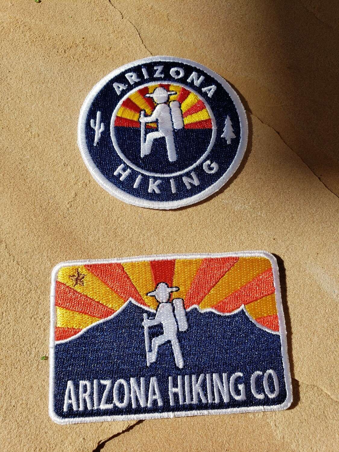 Arizona Hiking Company Patches (2 pack)