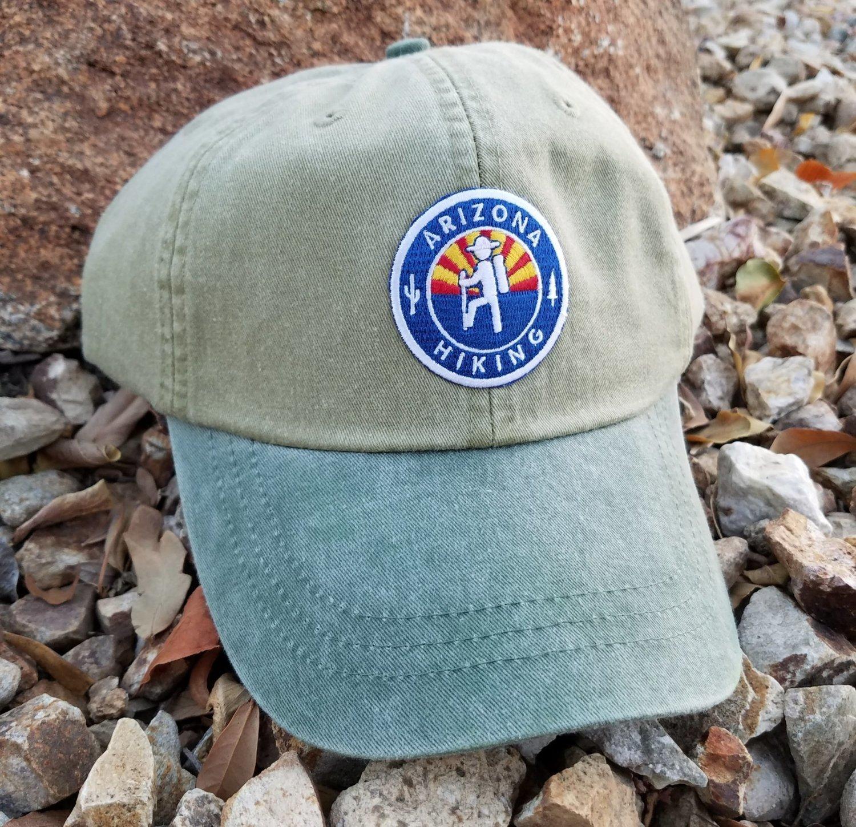 AZH Optimum 2-Tone Hat - Desert Khaki / Spruce Green