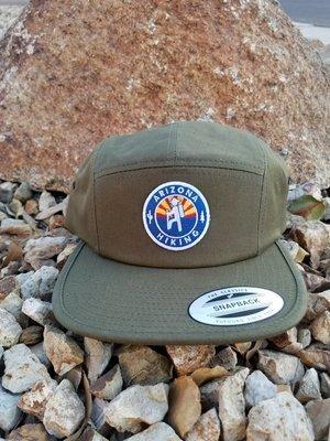 AZH Camper Hat - Olive Green