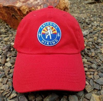 Arizona Hiking Low-pro Dad Hat - Red