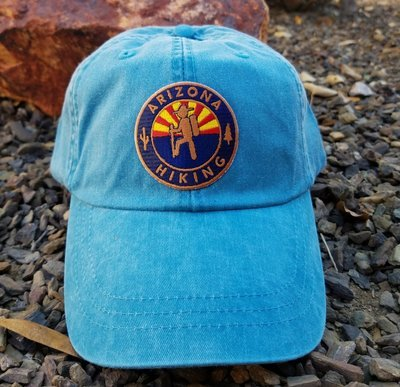 Arizona Hiking Optimum Low-Pro - Supai Blue (Copper Edition)
