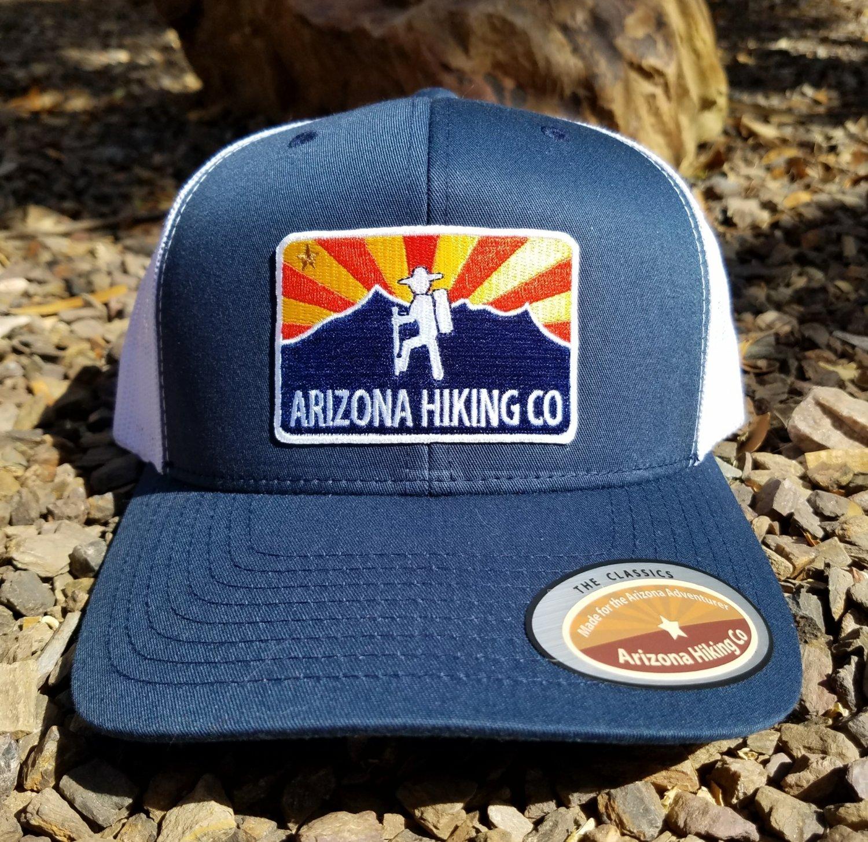 """The Classic"" Arizona Hiking Co - Navy/White"
