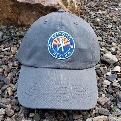 Arizona Hiking Low-pro Dad Hat - Dark Grey