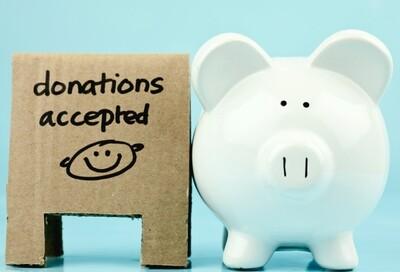 TAX DEDUCTIBLE DONATION