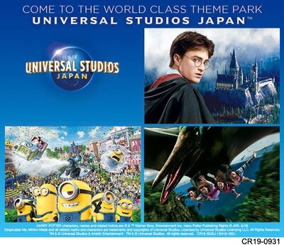 USJ 2 Days (Consecutive) Fixed Date Studio Pass