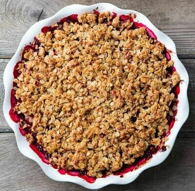 Family Apple Berry Crumble