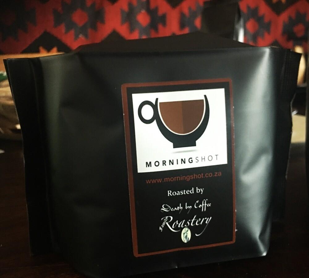 500g espresso ground Morning Shot