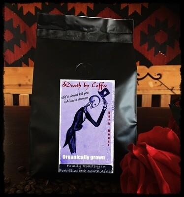500g - single origin dark beans - Sleep when you're dead