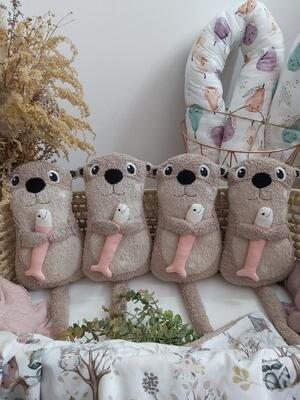 Ottermädchen SOFORTVERKAUF dunkelbeige