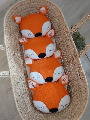 Fuchskopf mit Namenszug auch als Spieluhr
