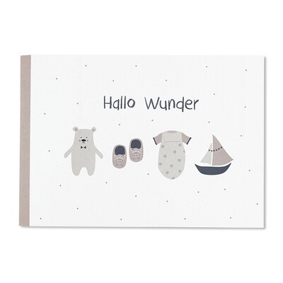 Erinnerungsbuch Hallo Wunder