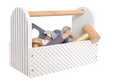 Jabadabado Werkzeugkiste + Werkzeug 22-teilig