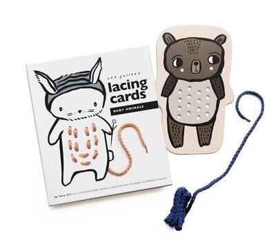 WG Schnürkarten Babytiere