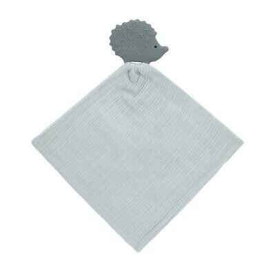 Lässig Schmusetuch mit Beißhilfe Igel